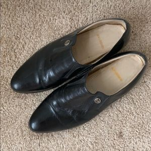 Stacy Adam black leather dress shoes 9M